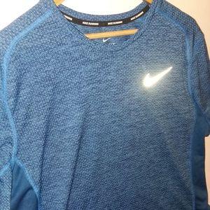 Nike Running Men's Short Sleeve Dri Fit Shirt XL